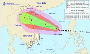 Công điện của Thủ tướng khẩn cấp ứng phó bão số 10