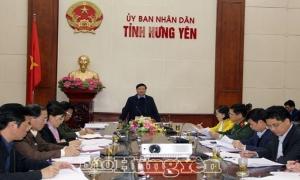 Hưng Yên: Chuẩn bị chu đáo các điều kiện cần thiết sẵn sàng ứng phó với dịch bệnh nCoV