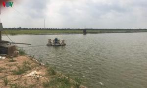 Nông dân Hưng Yên làm giàu từ mô hình nuôi cá trong ao bán nổi