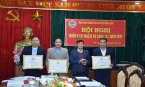 Hội Nông dân huyện Văn Lâm tổng kết công tác Hội và phong trào nông dân 2020