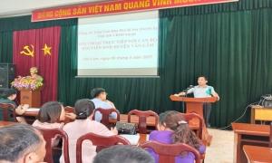 Văn Lâm: Tập huấn,  bồi dưỡng cán bộ Hội chủ chốt