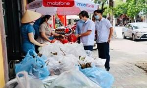 Nông dân Hưng Yên: Giúp  tiêu thụ 116,5 tấn nông sản