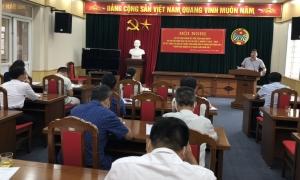 Hội Nông dân thị xã Mỹ Hào tổ chức sơ kết giữa nhiệm kỳ đại hội Hội Nông dân thị lần thứ X, nhiệm kỳ 2018 - 2023 và sơ kết công tác Hội 6 tháng đầ năm 2021